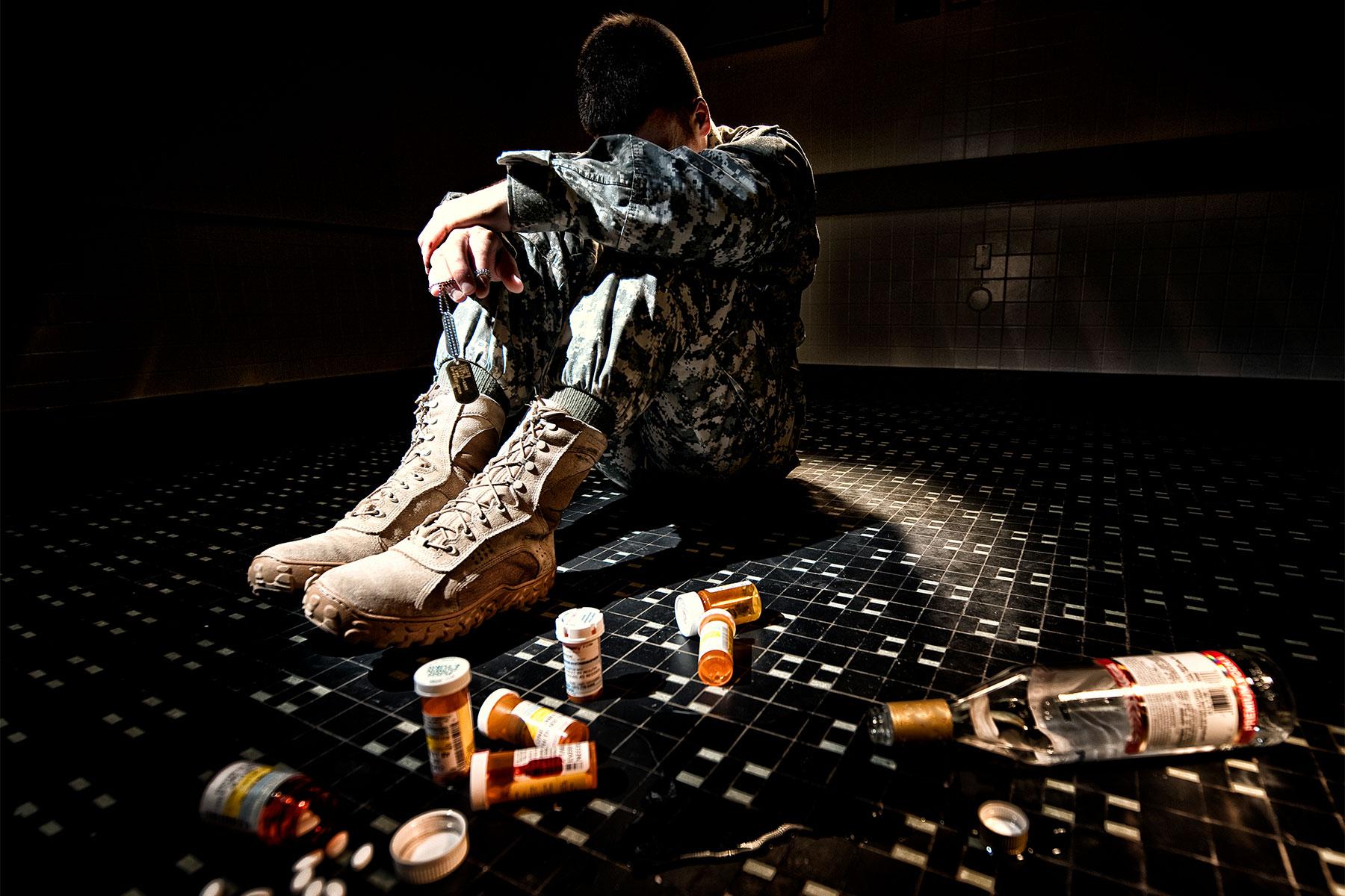 Caregiver Help: Veteran Substance Abuse and Depression   Military.com
