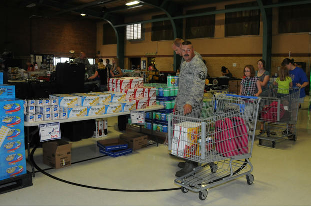 The Defense Commissary Agency offers special sales like case lot sales and off-site sales.