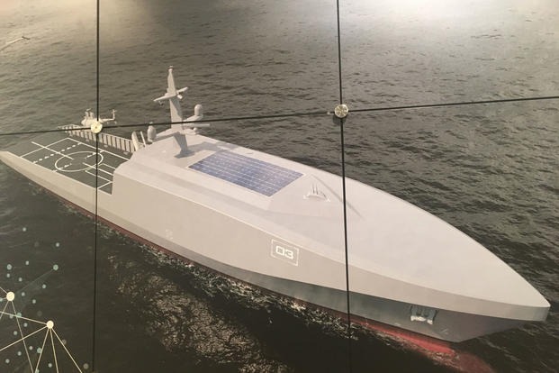 This Unmanned Rolls Royce Ship Concept Could Launch Drone