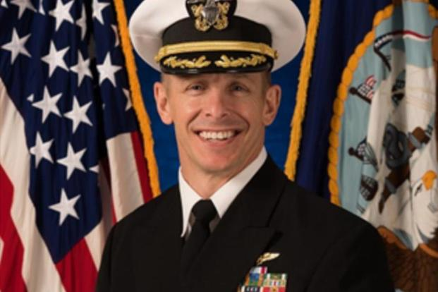 Capt. Brent Blackmer. Navy photo
