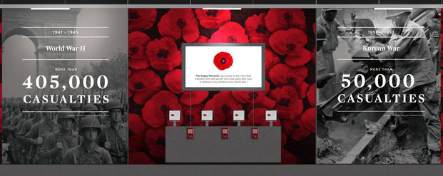 Dc Readers Dont Miss The Poppy Memorial This Weekend Military