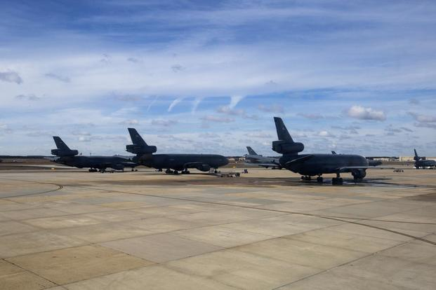 kc 10 ground emergency under investigation air force says