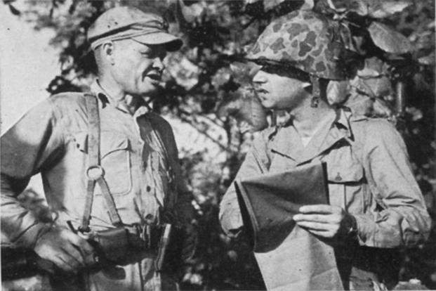 the man  the myth  the legend  good night  chesty puller