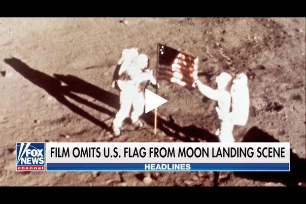 New Film About Neil Armstrong Omits American Flag From