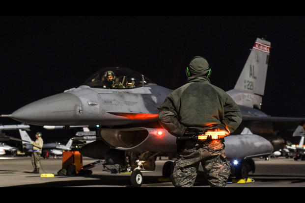 F-16 Pilot: 'It's About the Busiest You'll Ever Be in Your