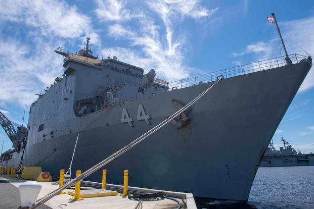 USS Gunston Hall Damaged in Heavy Seas During Nordic Transit