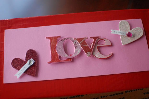 military care package ideas for valentines day