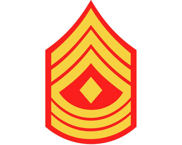 Marine Corps First Sergeant insignia