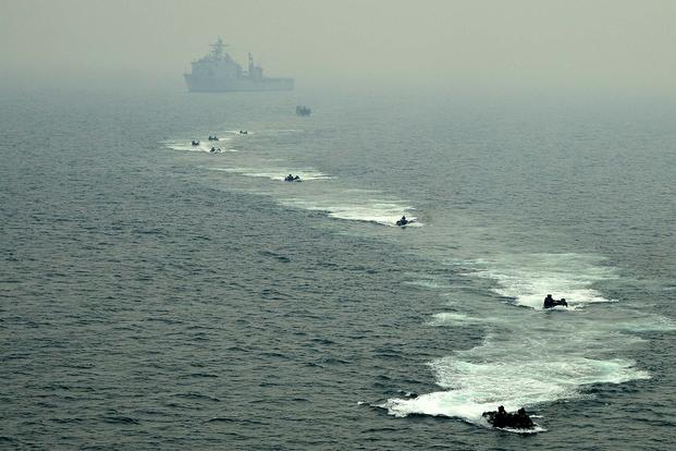 chinas antics in south china sea could change deployments