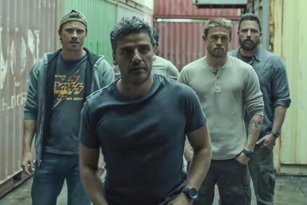 b5fff9de Garrett Hedlund, Oscar Isaac, Charlie Hunnam and Ben Affleck star in the Special  Forces thriller