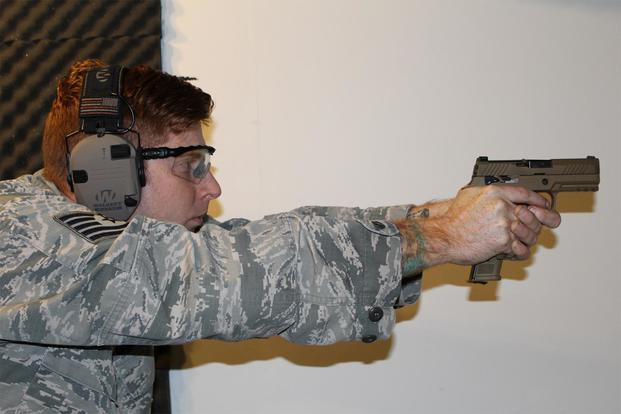 Air Force Begins Fielding New Army Handgun to Security Forces