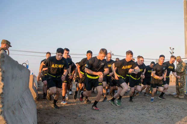 Army PFT Two-Mile Run Chart | Military com