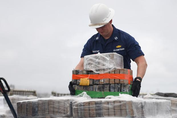 Coast Guard Crew Unloads 7.1 Tons of Cocaine in San Diego