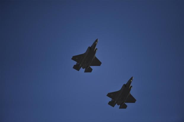 Air Force's F-35A Deploys to Middle East for First Time | Military com