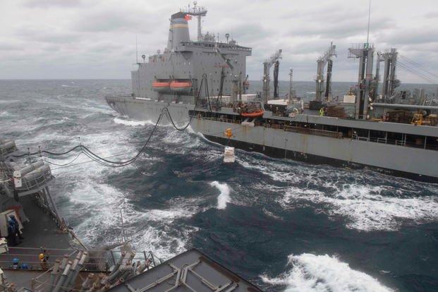 US Warships Sail Through Taiwan Strait, Defense Ministry Says
