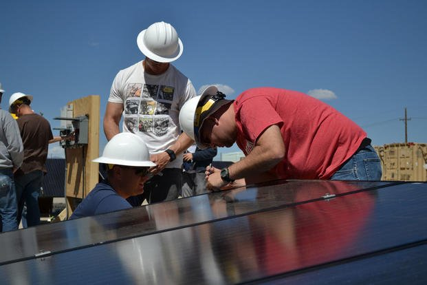In order to attract our nation's skilled veterans to the solar energy industry, SETO created the Solar Ready Vets® program in partnership with the Department of Defense Skillbridge initiative.