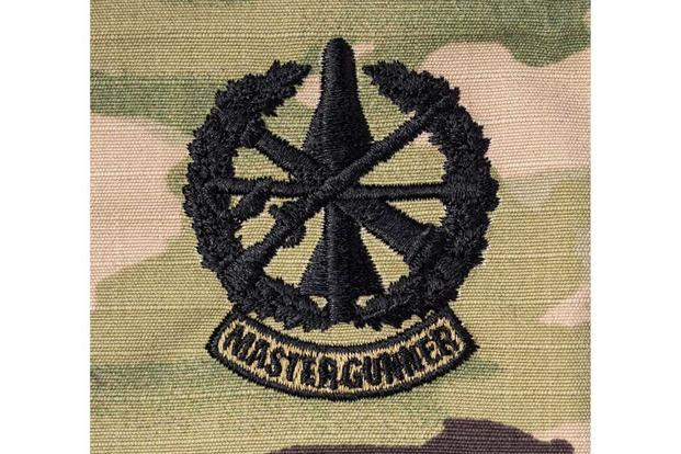 Army's new Master Gunner Identification Badge from (Image: Vanguard Industries Inc.)
