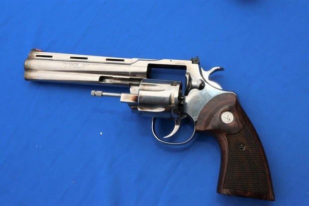Colt Manufacturing Company LLC's reintroduced .357 Python revolver