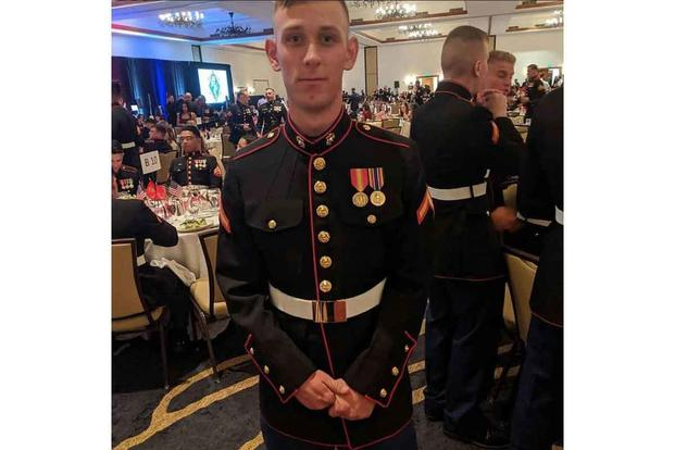 Lance Cpl. Chase Sweetwood.
