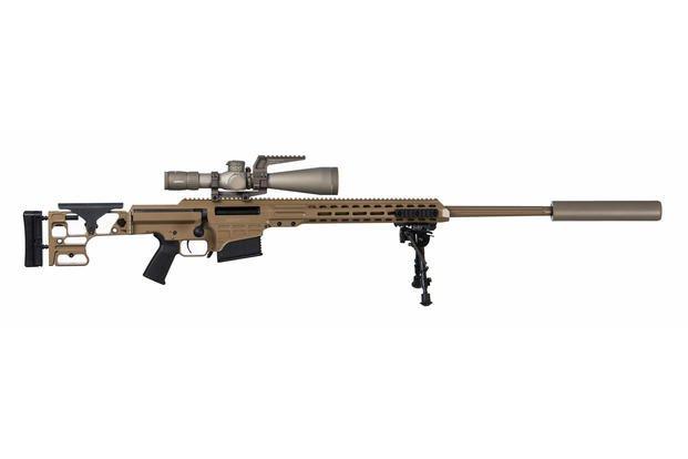 MK22 Multi-role Adaptive Design, or MRAD, sniper rifle