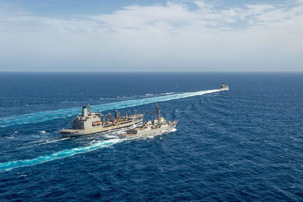 Navy operations in the Mediterranean Sea