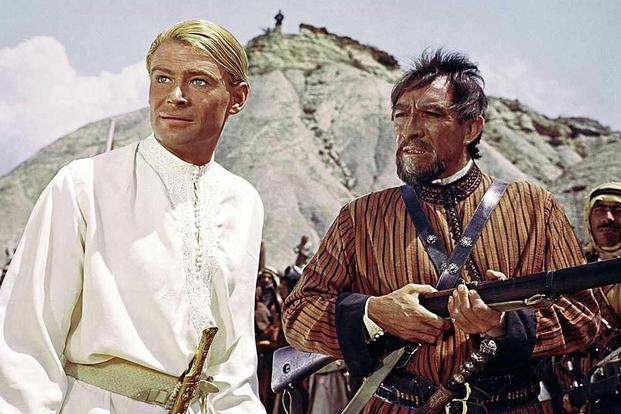 Peter O'Toole Anthony Quinn Lawrence of Arabia