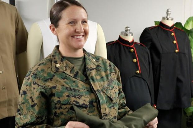 New maternity uniforms