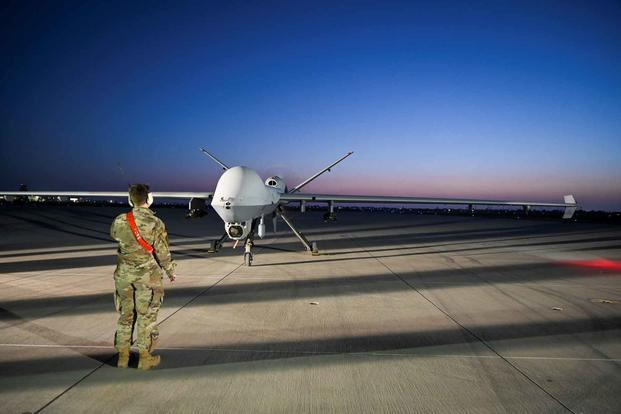 MQ-9 Reaper during Exercise Agile Reaper.