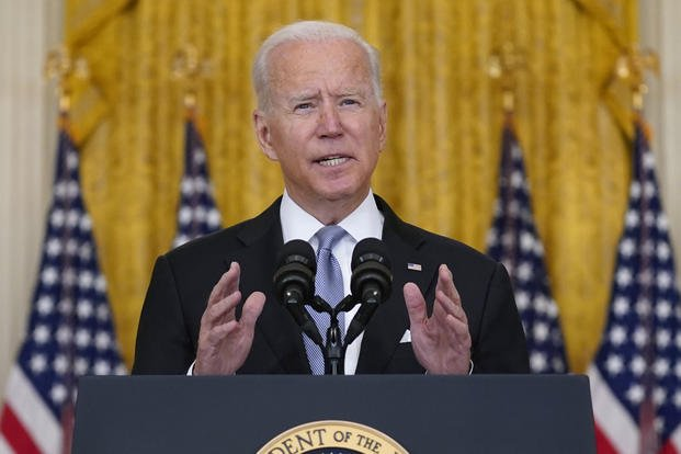 US President Stood by His Decision of Withdrawing Troops from Afghanistan: School Megamart 2021