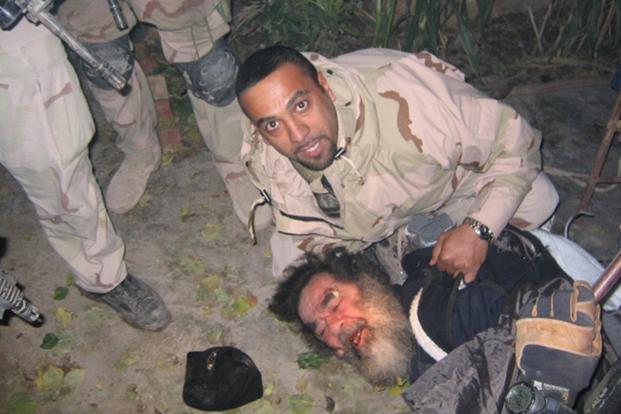 حفرة عنكبوت صدام حسين