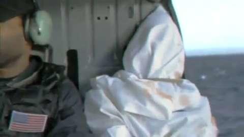 Osama's Sea Burial Caught on Tape