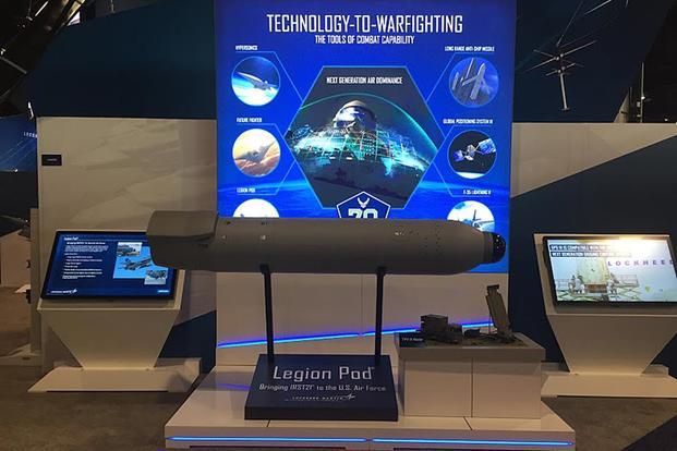 Lockheed To Develop Legion Pod For Air Force F 15c Fleet