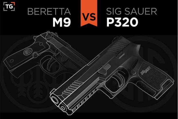 How Sig Sauer P320 Compares to Beretta M9 | Military com