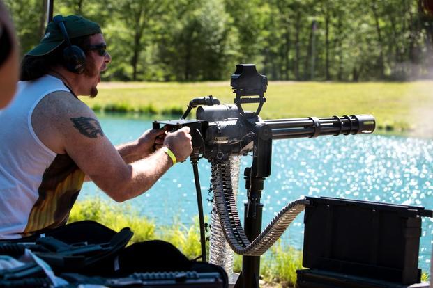 photos from the stone mountain machine gun shoot