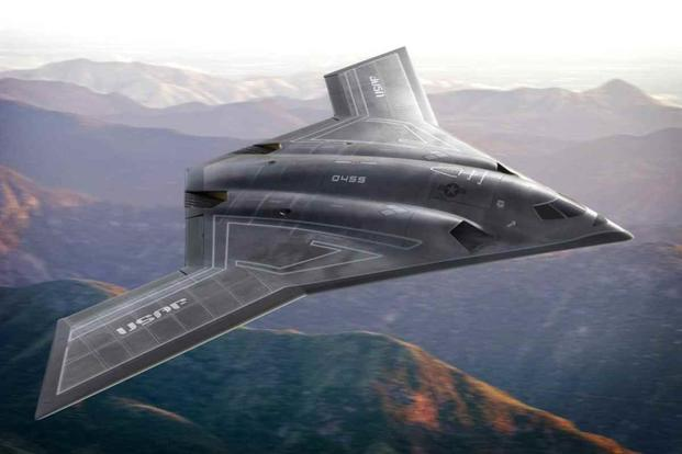 A conceptual image of the proposed Long Range Strike Bomber, or LRSB.