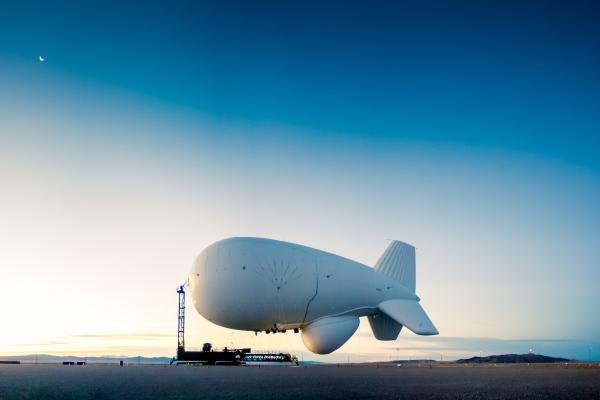 The Army in 2014 launched a surveillance blimp, or aerostat, called the Joint Land Attack Cruise Missile Defense Elevated Netted Sensor, at Aberdeen Proving Ground, Md. (Raytheon photo)