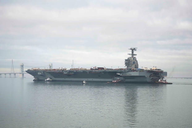 Gerald R Ford Class Aircraft Carrier