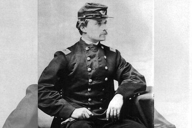 Colonel Robert Gould Shaw, May 1863.
