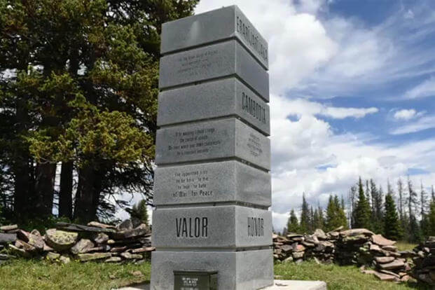 Soldierstone Memorial, Rio Grande National Forest