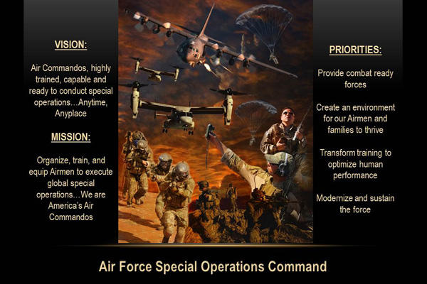 AFSOC mission statement