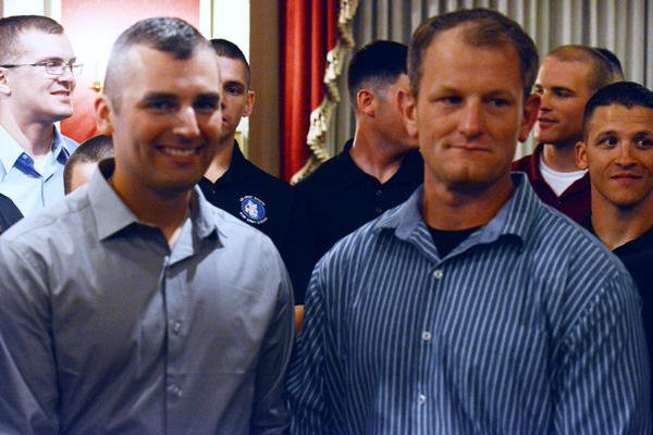 Sgt. 1st Class Matthew Carpenter and Spc. Thomas Boyd