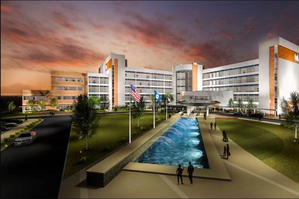 A new VA Health Care center in Salisbury, N.C. -- set to open this year -- would be shut down by a new proposal concocted in secret by a group of federal legislators. (VA photo)