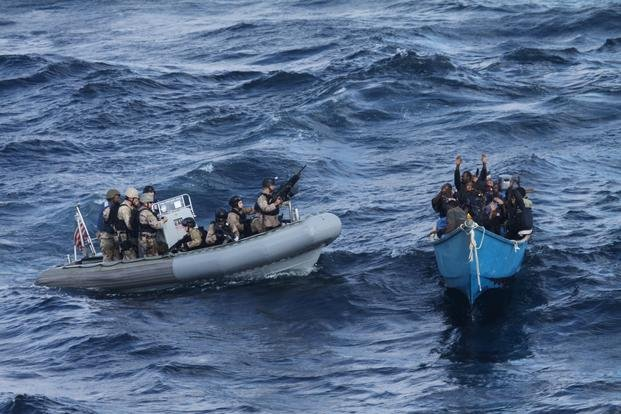 USS Pinckney Disrupts Piracy