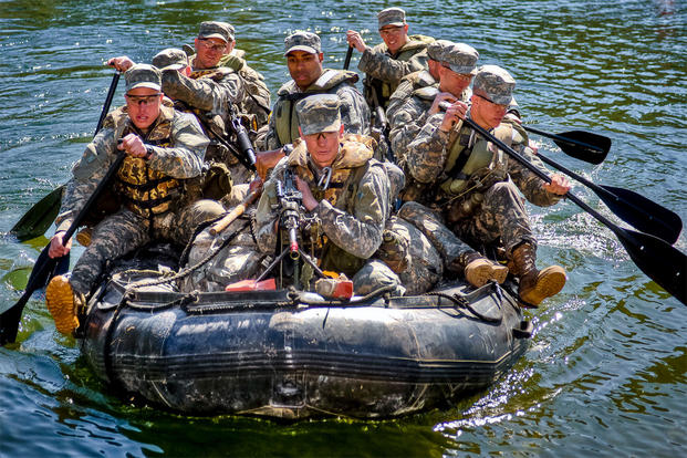 US Army Ranger School Training