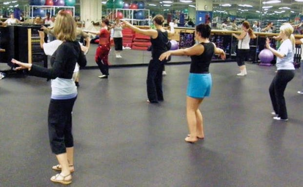 Belly Dance Class Shimmies At Wheelock