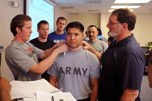 Military Body Composition Test