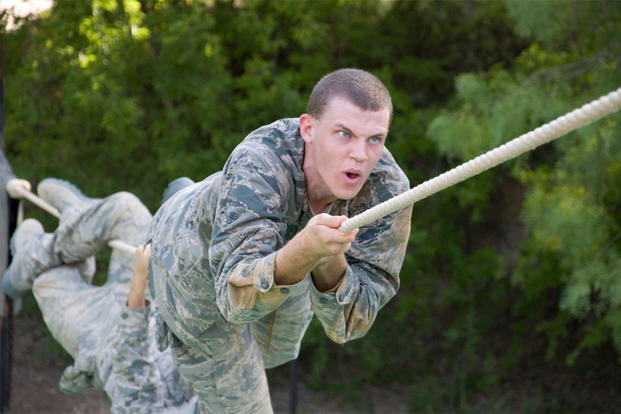 The Harder Line in Training - Air Force Basic Training