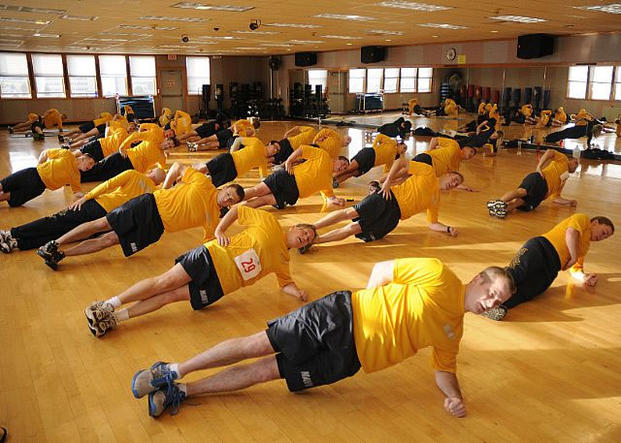 Navy Physical Fitness Program