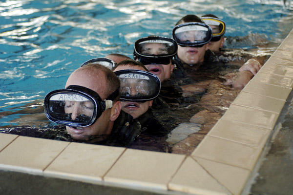 Water confidence training