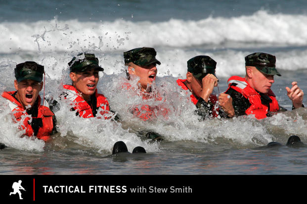 Tactical Fitness: SEAL candidates endure surf torture.